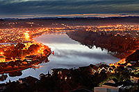 Wanganui City and River canvas print