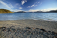 Rocky shore Long Is Marlborough canvas print