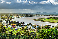 Dargaville and Wairoa river Northland canvas print